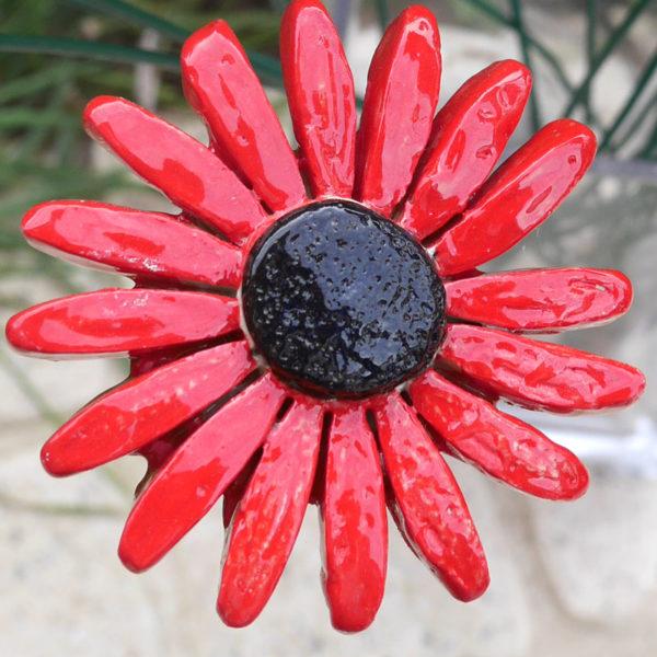 céramique fleurs artificielles