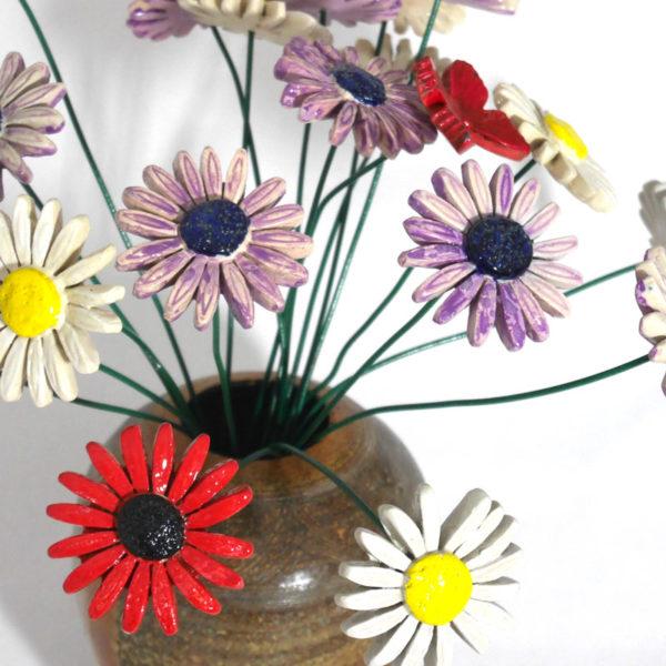 céramique fleurs