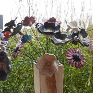 faire des fleurs en céramique